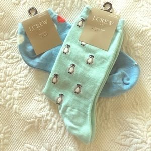 J Crew Socks Bundle NWT